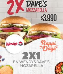 2X1 Dave´s Mozzarella Single