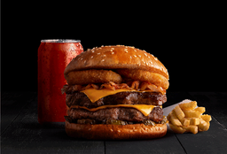 Combo Doble Bacon BBQ Taste