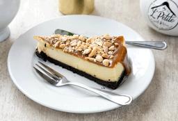 Porción Cheesecake Snikers