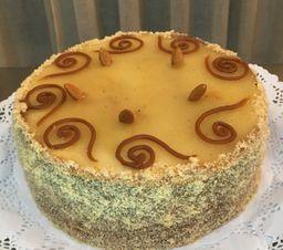 Torta Manjar Almendras (16 personas)