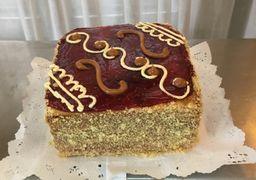 Torta Panqueque Manjar Frambuesa (8 a 10 personas)