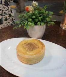 Tartaleta de pera con crema de almendras