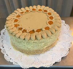 Torta Panqueque Moka Damasco Grande