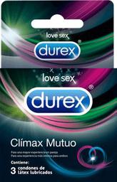 Preservativos Durex Climax Mutuo X3