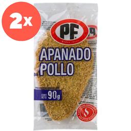 5x Apanado De Pollo Pf 90 Gr