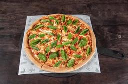Pizza Caprese Margarita Familiar