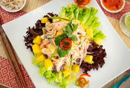 Cebiche Thai de Mariscos
