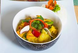 Curry Amarillo de Vegetariano