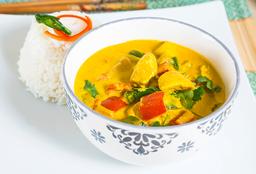 Curry Amarillo Pollo