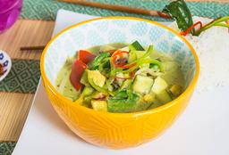 Curry Verde de Vegetariano