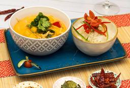 Curry Rojo de Vegetariano