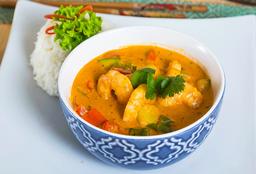 Curry Rojo de Camarón