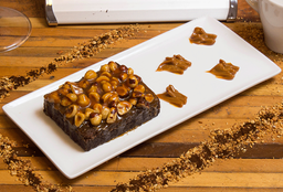 Brownie Caramelo Avellana Europea