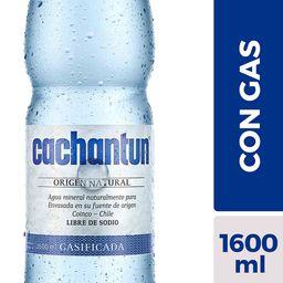 Agua mineral Cachantun con gas 1.6L