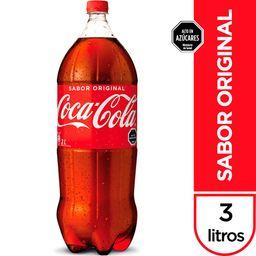 Bebida Coca Cola 3L