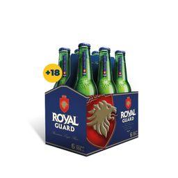 6x Cerveza Royal Guard 355cc Botella