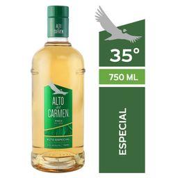 Pisco Alto del Carmen 35° Botella 750ml