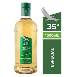 Pisco Alto del Carmen 35° Botella 1Lt