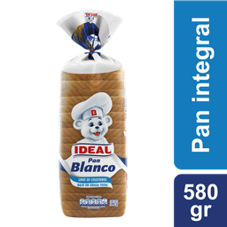 Pan Molde Blanco Ideal 580 g