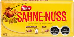 Sahne Nuss Chocolate Barra 250g