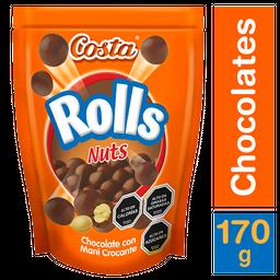 Costa Rolls Nuts Chocolate 170g