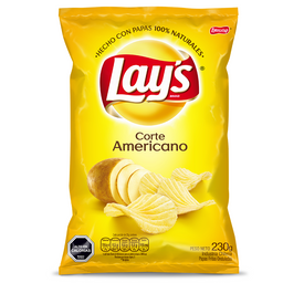 Lays Papas fritas Corte Americano 230g
