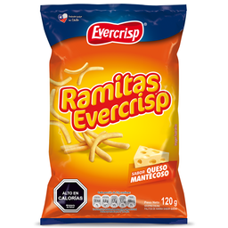 Evercrisp Ramitas Queso 120g