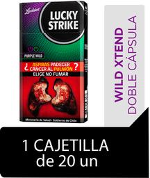 Lucky Strike Purple Wild Cigarrillos Cajetilla 20Un