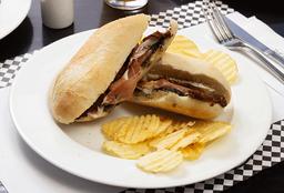 Sándwich Jamón Crudo
