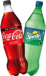 Promo: 2x Coca Cola y/o variedades 1,5L