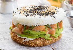 Sushi-Burger Salmón