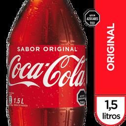 Bebida Coca Cola Original Botella 1.5Lt