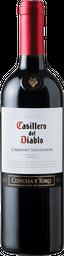 Vino Cabernet Casillero Del Diablo 750cc