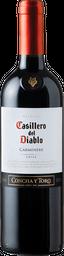 Vino Carmenere Casillero Del Diablo 750cc