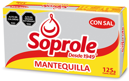 Mantequilla Pan Soprole 125g