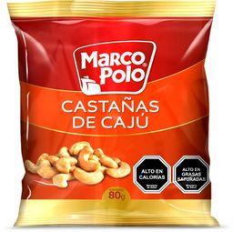 Castañas de Caju Marco Polo 80g