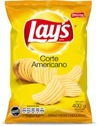 Papas Lays Corte Americano 400g