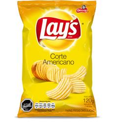 Papas Lays Corte Americano 120g