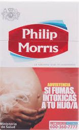 Philip Morris Rojo Box 20Un