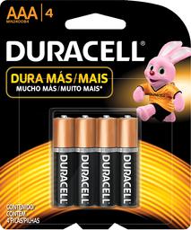 Pilas Duracell AAA 4U