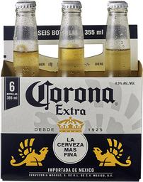 Cerveza Corona Extra Six Pack 355cc