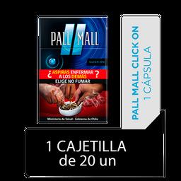 Pall Mall Click On Fresh Taste Blue Cigarrillos Cajetilla 20Un