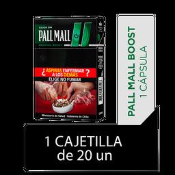 Pall Mall Click On Menthol Boost Cigarrillos Cajetilla 20Un