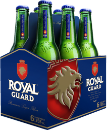 Cerveza Royal Guard Botella Six Pack 355cc