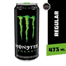 Bebida Energetica Monster Energy Regular 473ml