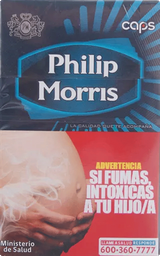Philip Morris Caps Box 20Un