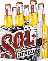 Cerveza Sol Botellas Six Pack 330cc