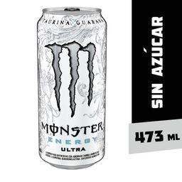 Bebida Energetica Monster Energy Ultra 473ml