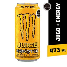 Bebida Energetica Monster Energy Ripper 473ml