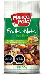 Fruits & Nuts Verde Marco Polo 80g